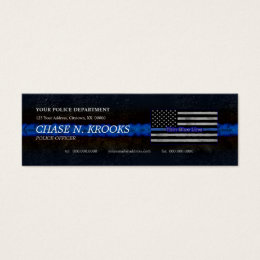 Police Officer Business Cards Templates Zazzle - Police business card templates