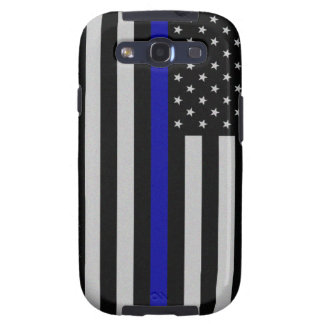 Thin Blue Line Flag Samsung Galaxy S3 Case