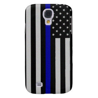 Thin Blue Line Flag Samsung Galaxy S4 Cover
