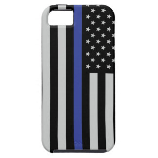 Thin Blue Line Flag Tough Iphone SE/5/5s Case