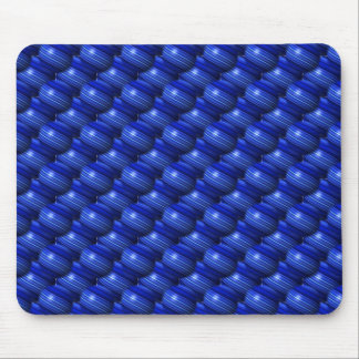 Thin Blue Line Globes Mouse Pad
