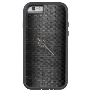 Thin Blue Line - Handcuff Key on Basket Weave Tough Xtreme iPhone 6 Case