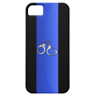 Thin Blue Line & Handcuffs iPhone 5 Covers