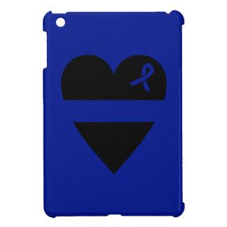 Thin Blue Line Heart iPad Mini Covers