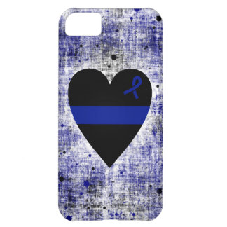 Thin Blue Line Heart iPhone 5C Case