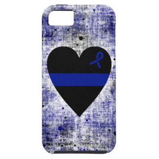 Thin Blue Line Heart iPhone SE/5/5s Case