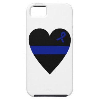 Thin Blue Line Heart iPhone SE/5/5s Case