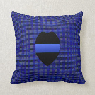 Thin Blue Line - Interchangeable Throw Pillow