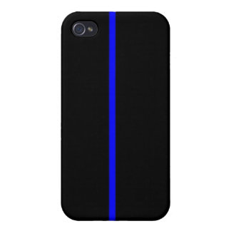 Thin Blue Line iPhone 4 Cases