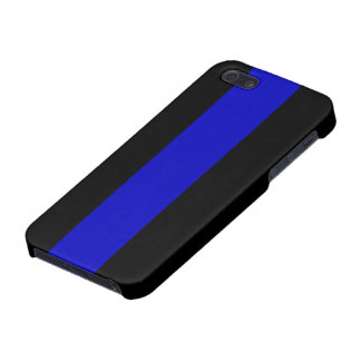 Thin Blue Line iPhone 5/5S Cover