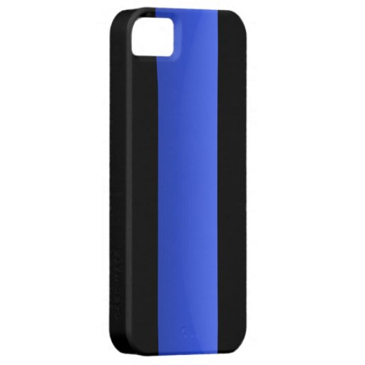 Thin Blue Line iPhone 5 Cover