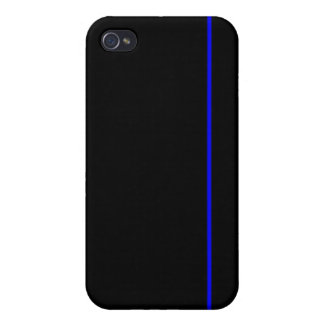 Thin blue line iPhone case iPhone 4 Covers