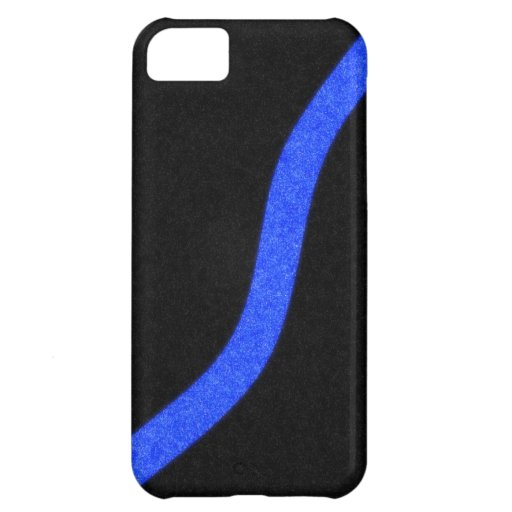 Thin Blue Line iPhone Case iPhone 5C Cases