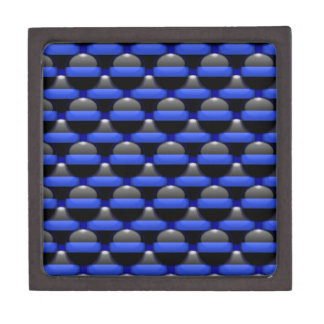 Thin Blue Line Jewelry Box