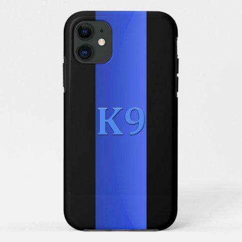 Thin Blue Line & K9 Phone Case
