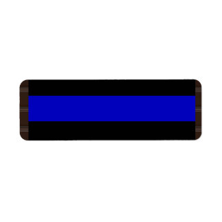 Thin Blue Line Label