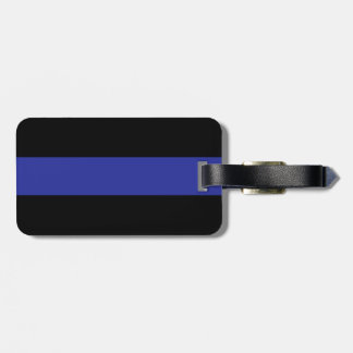 """Thin Blue Line"" Luggage Tag"
