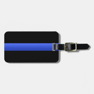 Thin Blue Line Tag For Luggage
