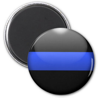 Thin Blue Line Refrigerator Magnets