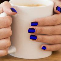 Thin Blue Line Minx Nail Wraps