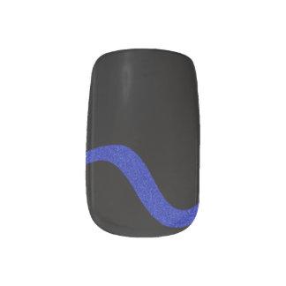 Thin Blue Line Minx Nails Minx Nail Art