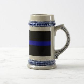 Thin Blue Line Coffee Mugs