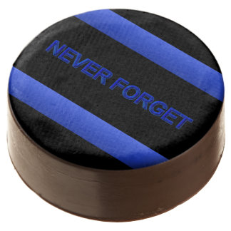 Thin Blue Line - Never Forget Chocolate Dipped Oreo