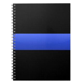 Thin Blue Line Notebook