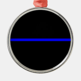 Thin blue line ornament