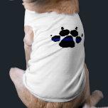 """Thin Blue Line Paw K-9 Shirt<br><div class=""""desc"""">Thin Blue Line Paw K-9 Shirt</div>"""