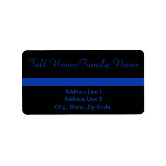 Thin Blue Line Personal Label