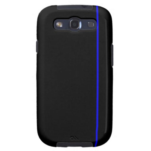 Thin blue line phone case samsung galaxy s3 cases