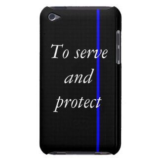 Thin Blue Line phone case