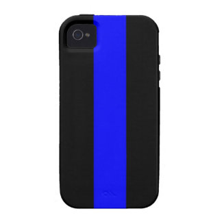Thin Blue Line Phone/Tablet Case Vibe iPhone 4 Case