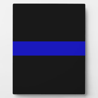 Thin Blue Line Plaque