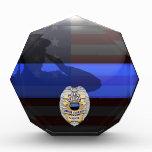Thin Blue Line - Police 15 Yr Award Plaque