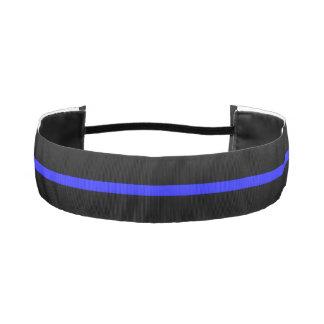 Thin Blue Line Police Athletic Headband