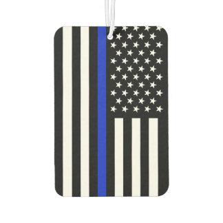 Thin Blue Line Police Flag Air Freshener