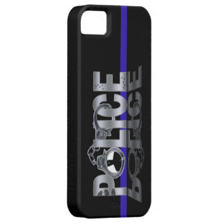 Thin Blue Line: POLICE iPhone 5 Case