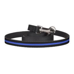 Thin Blue Line Police K-9 Leash