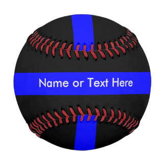 Thin Blue Line Police Baseball