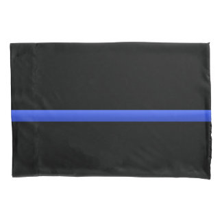 Thin Blue Line Police Tribute Pillowcase