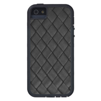 Thin Blue Line - Police Tuck and Roll Basket Weave iPhone 5 Cover