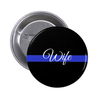 Thin Blue Line: Police Wife Button