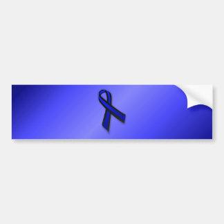 Thin Blue Line Ribbon Bumper Stickers
