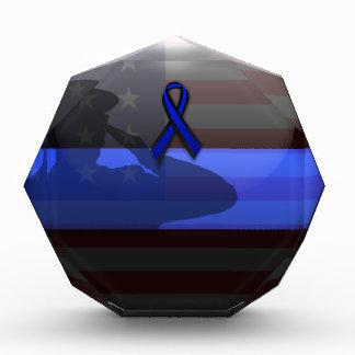 Thin Blue Line Ribbon Memorial Award