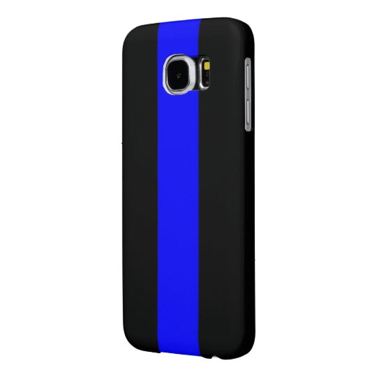 new products 9581a 33d5d Thin Blue Line Samsung Galaxy S6 Cell Phone Case