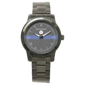 Thin Blue Line Serviceman Watch