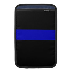 Thin Blue Line Sleeve For Macbook Air at Zazzle