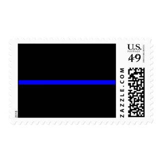 Thin blue line stamp